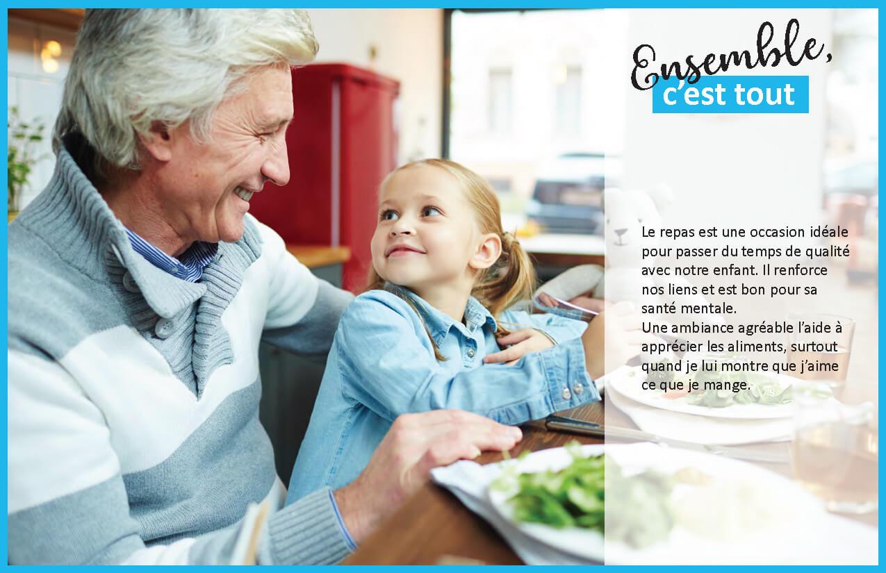 Affiches et guide pour le personnel des haltes-garderies en matière de saine alimentation
