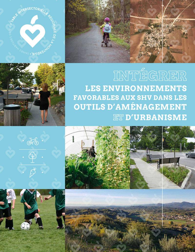 Des fiches pour aider les municipalités à intégrer les saines habitudes de vie dans les outils d'aménagement et d'urbanisme